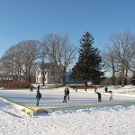facilities - people skating on the rink