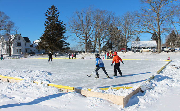 Coastal Rivers community ice rink