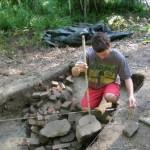 Excavation at Hatch Homestead 2015