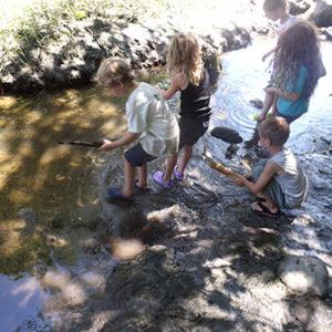 kids marsh-mucking