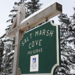 Sign at Salt Marsh Cove Preserve