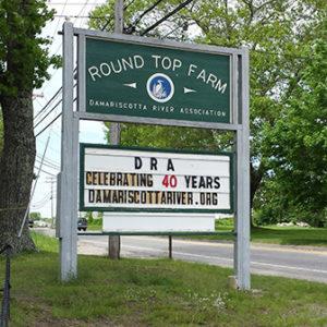 Round Top Sign