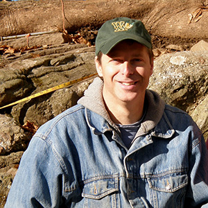 Historical Archaeologist and Project Director Tim Dinsmore