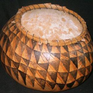 gourd basket by Judy Dow