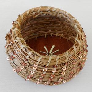 pine needle basket by Judy Dow