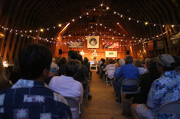 concert in darrows barn