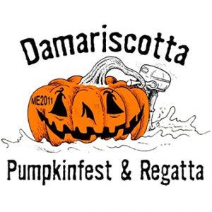 Damariscotta pumpkinfest and regatta logo
