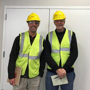 Presernters Mark Ward and Michael Ulh