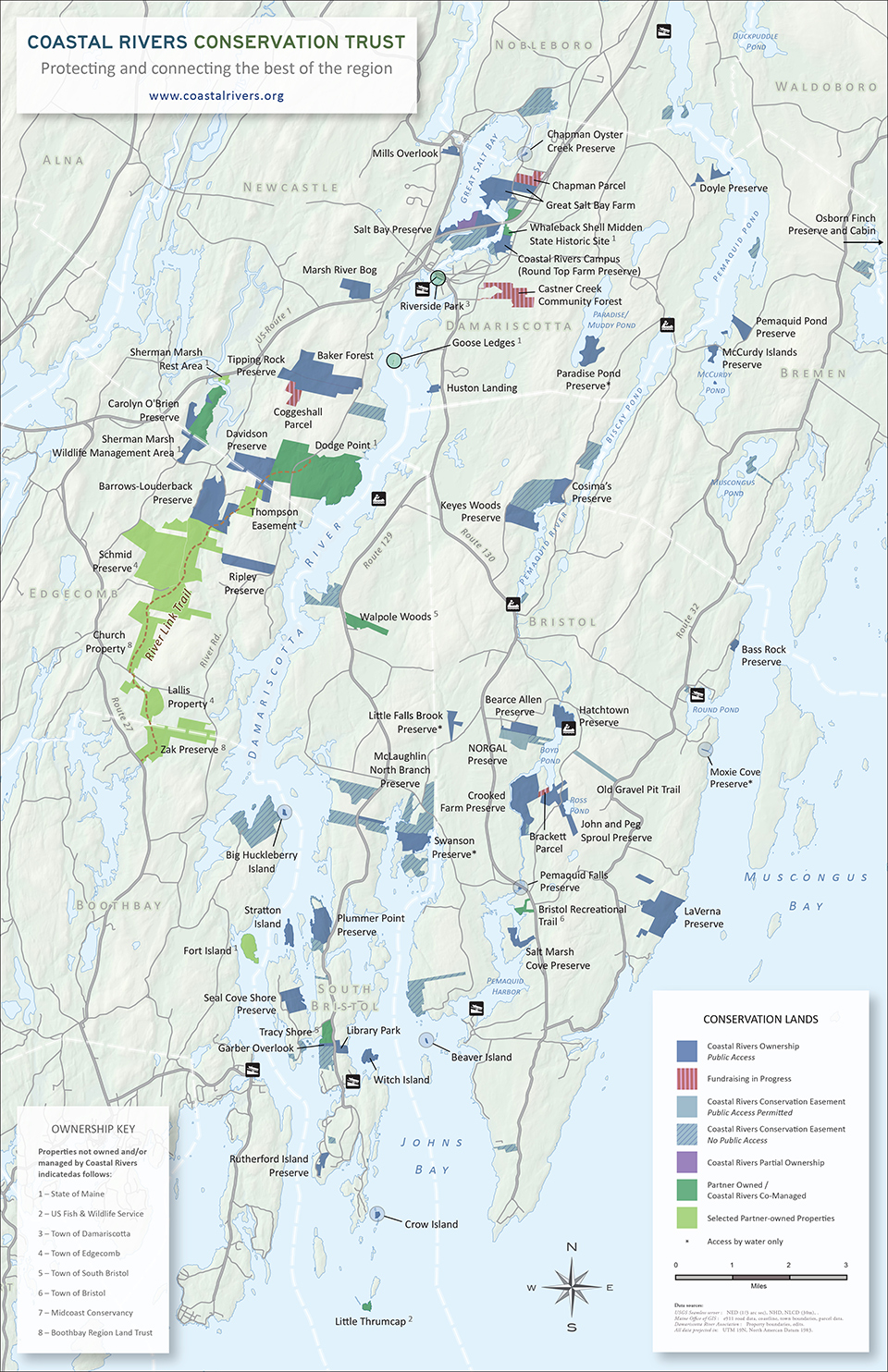Public Access Map – Coastal Rivers Conservation Trust on map of wilton maine, map of maine regions, map of ogunquit maine, map of houlton maine, map of bethel maine, map of newport maine, map of maine state parks, map of belfast maine, map of harrison maine, map of mount desert island maine, map of biddeford maine, map of kittery maine, map of mountains in maine, map of camden maine, map of maine coast, map of caribou maine, map of augusta maine area, map all towns in maine, map of harpswell maine,