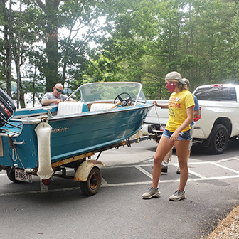 Combatting invasives through Courtesy Boat Inspections