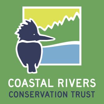 Coastal Rivers' kingfisher logo