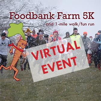 graphic for virtual foodbank farm 5k