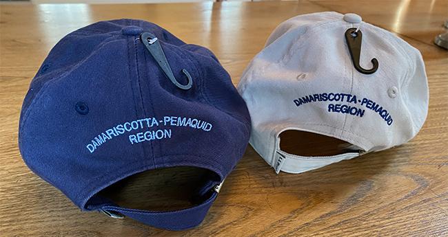 Coastal Rivers ball caps, back