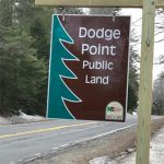 Dodge Point sign
