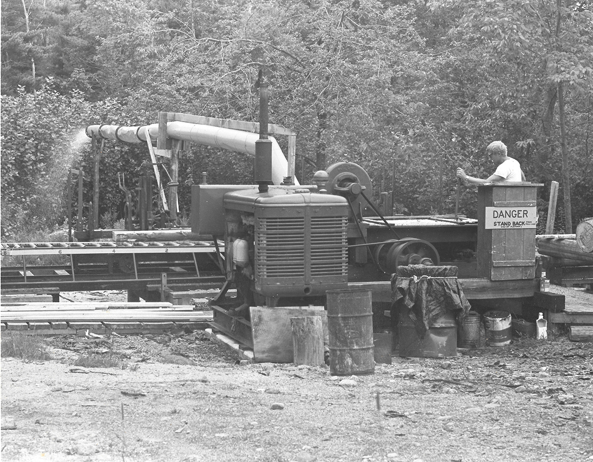 Barnaby's saw mill
