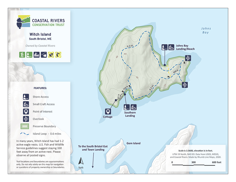 Map of Witch Island