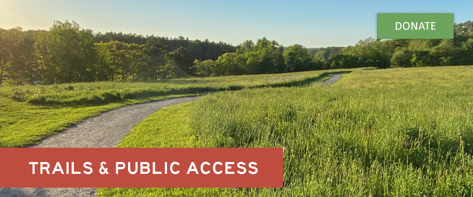 The accessible trail at Round Top Farm