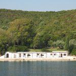 Jackie Onassis' bath house in Greece