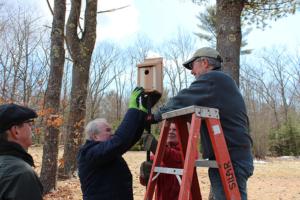 mounting a box